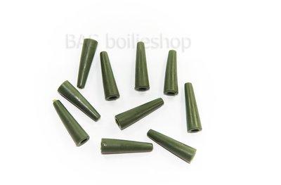 Tail rubber Green (10 stuks)