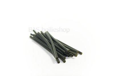 Shrink tube / Krimpkous 1.5mm Green (20 stuks)